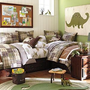 Kid's Dinosaur Bedroom Ideas   How to Decorate a Dinosaur Theme Room