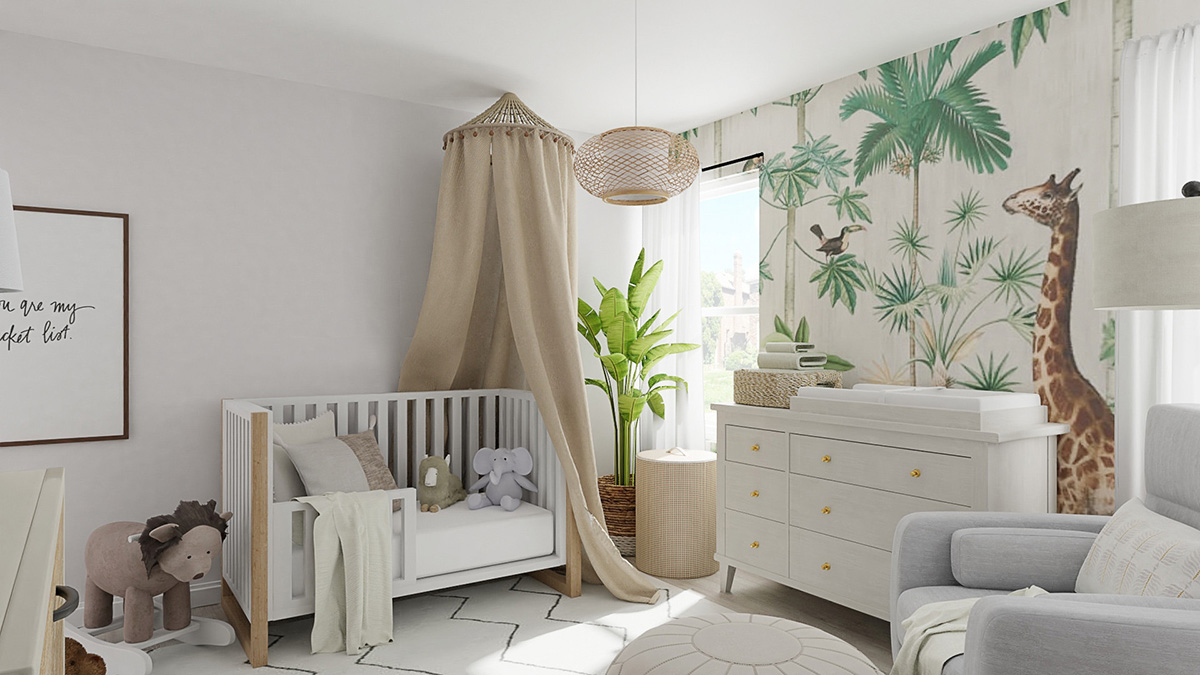 How to Decorate a Safari Theme Bedroom for Kids