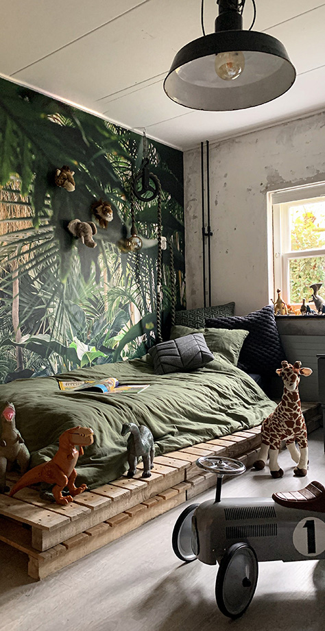 Kids Safari Jungle Bedroom