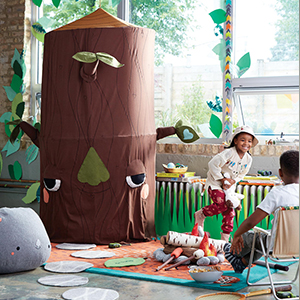 How to Decorate a Kid's Woodland Theme Bedroom