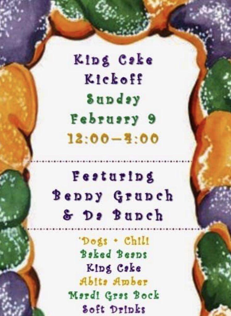 King Cake gig