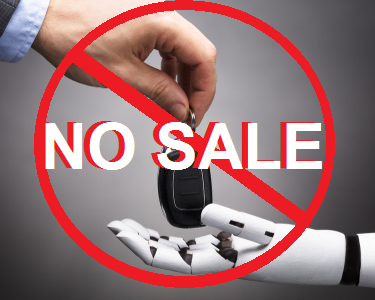 Clicks Don't Buy Cars — HUMANS Do!