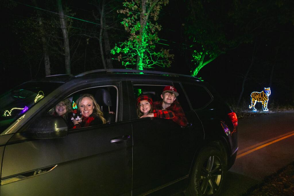 Winter Magic drive thru swope park