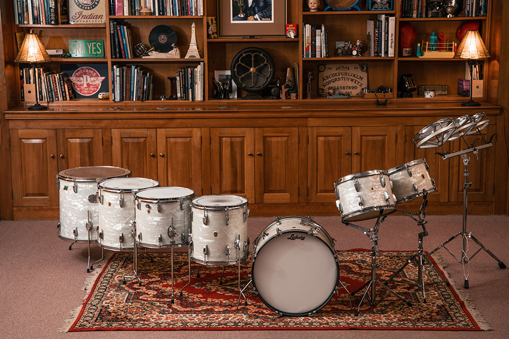 The Library Studio Ludwig Drum Kit