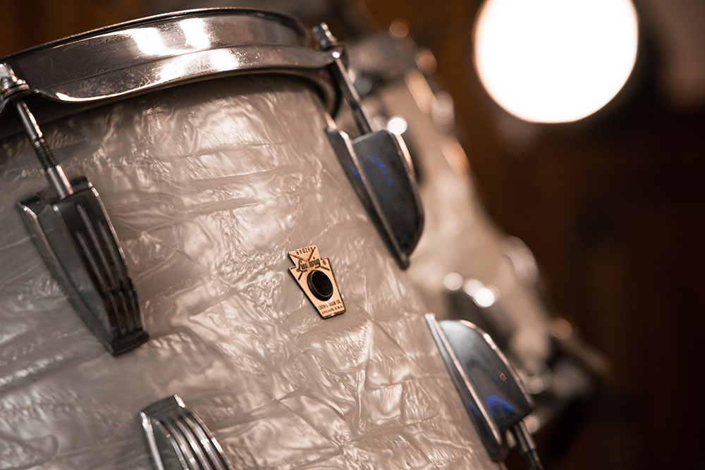 The Library Studio Ludwig Drum Kit Detail