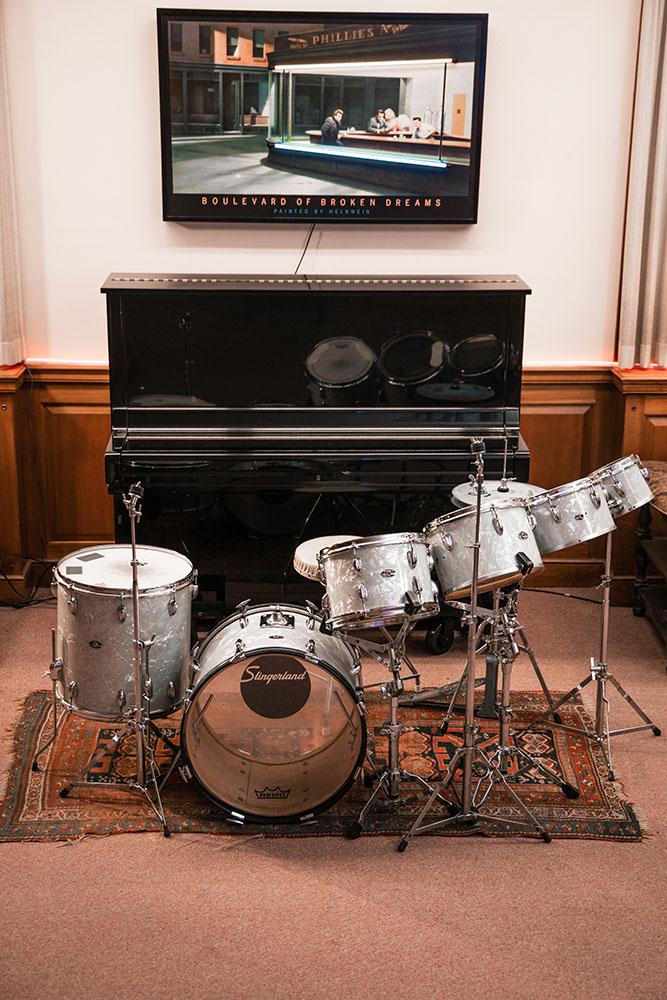 The Library Studio Slingerland Drum Kit