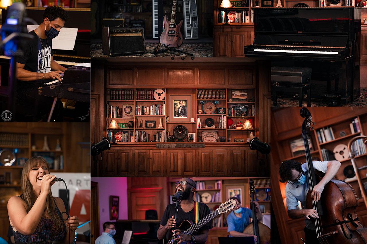 The Library Studio Photo Collage