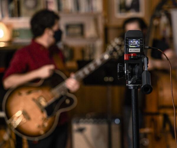 The Library Studio Recording