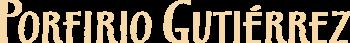 Porfirio Gutiérrez logo