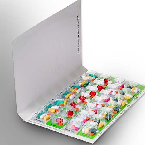 Multi dose blister packs / Medication tray