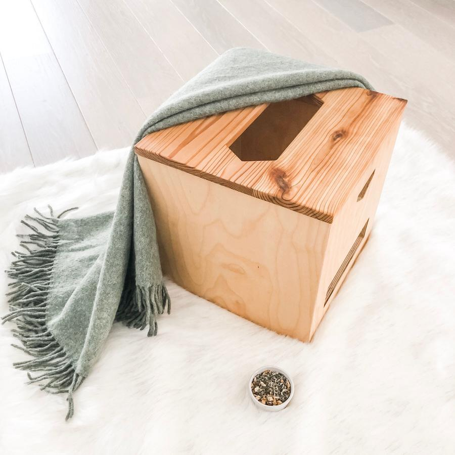 yoni steam box and herbs - image