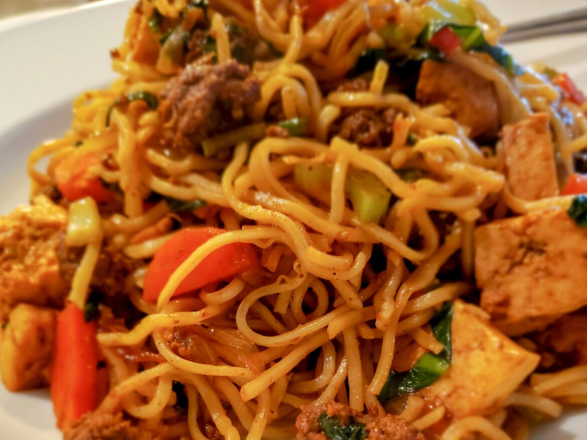 This Guyanese inspired ChowMein recipe is as good as the real thing.