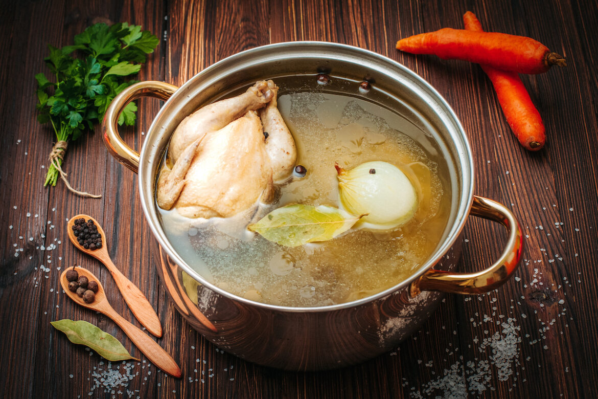 The alpha and omega of chicken soup - no matter what research you conduct you will always return to one profound thought...it makes me feel so damn good!