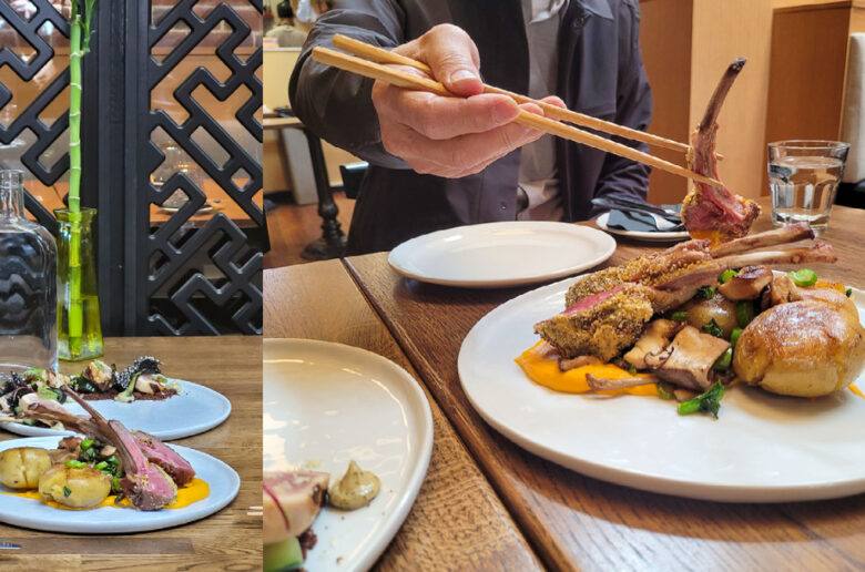 I read that if humans live within a capsule away from friends and family then their appetite for actual food will fade away, that is a horrifying future – Chef Han, Sai Woo by Kosoo Group of Restaurants.