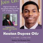 Keaton Otis Vigil flyer