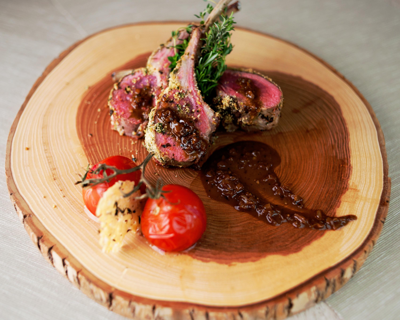 Provencal Lamb, Peppercorns, Demi-Glace