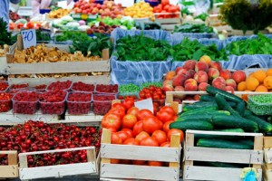 Healthy Foods at the Farmer's Market