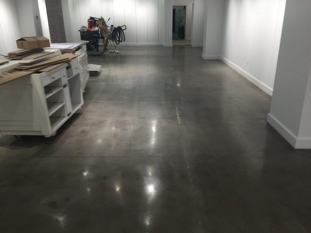 Floor Grinding & Polishing