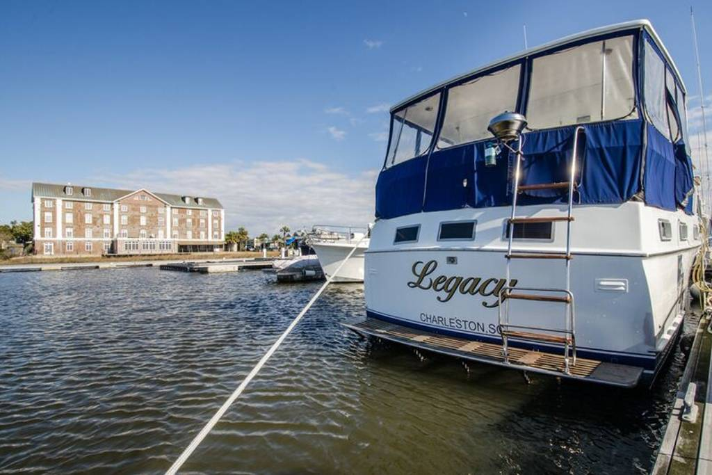 hatteras yacht for rent airbnb