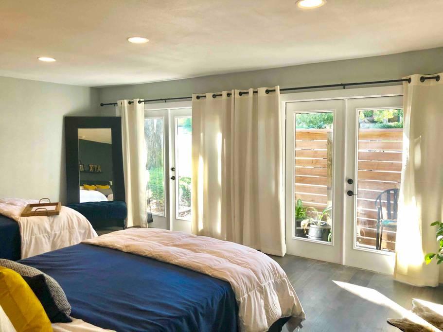 boho guest suite airbnb austin