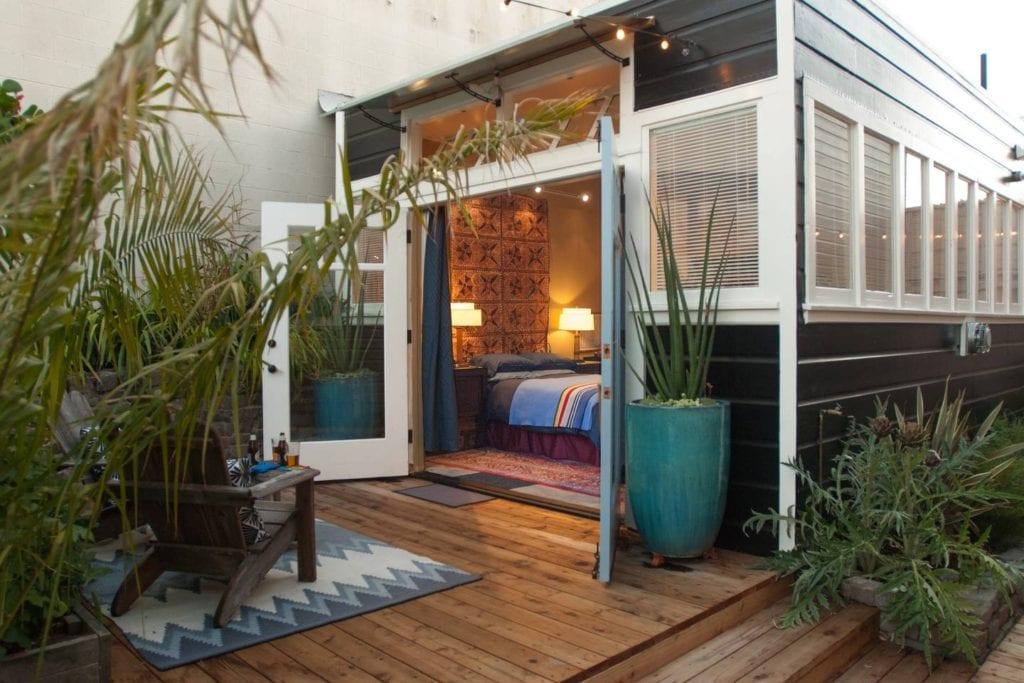 garden airbnb cabana san francisco