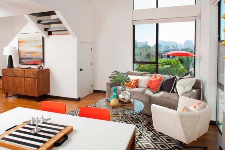 modern airbnb apartment loft close to balboa park san diego