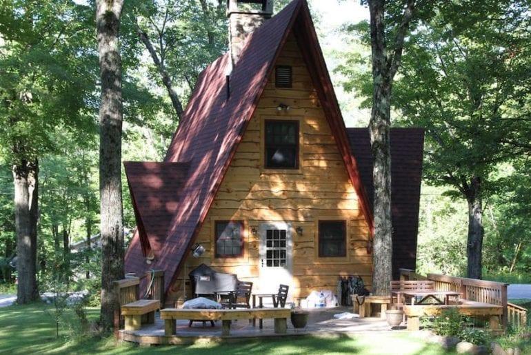 brook cottage maine airbnb