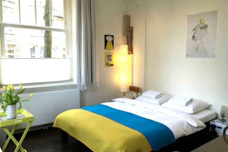 family airbnb suite near amsterdam museum square