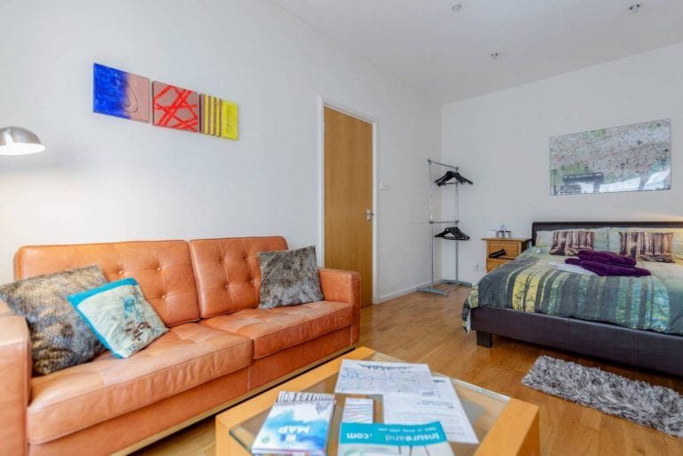 leicester sqaure private room airbnb london