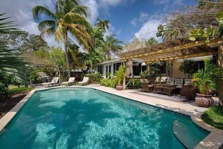 luxury pool home airbnb ft lauderdale