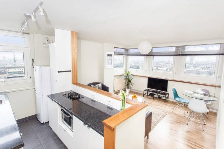 central soho airbnb apartment with city views
