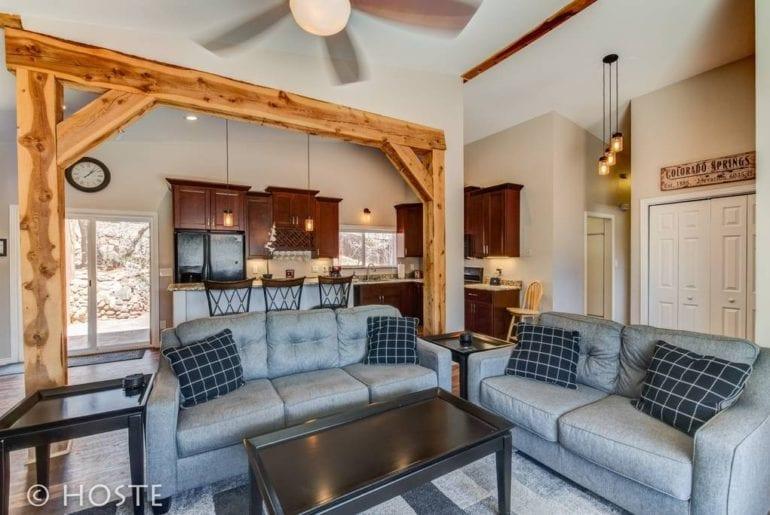 hot tub home colorado springs airbnb