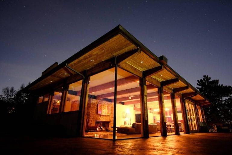 contemporary airbnb home colorado springs
