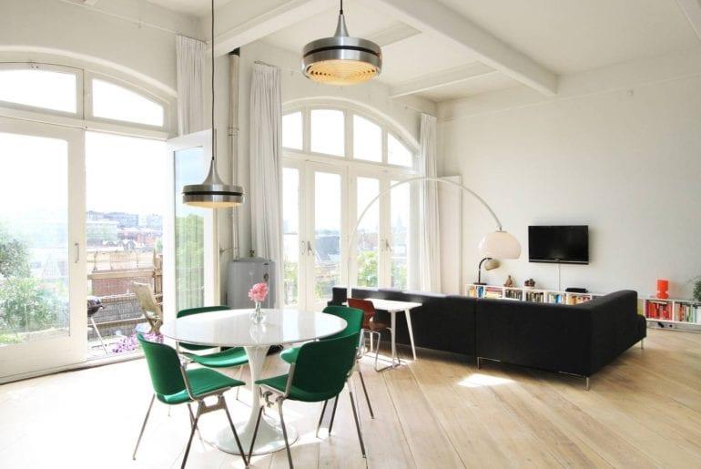 designer loft apartment airbnb amsteerdam