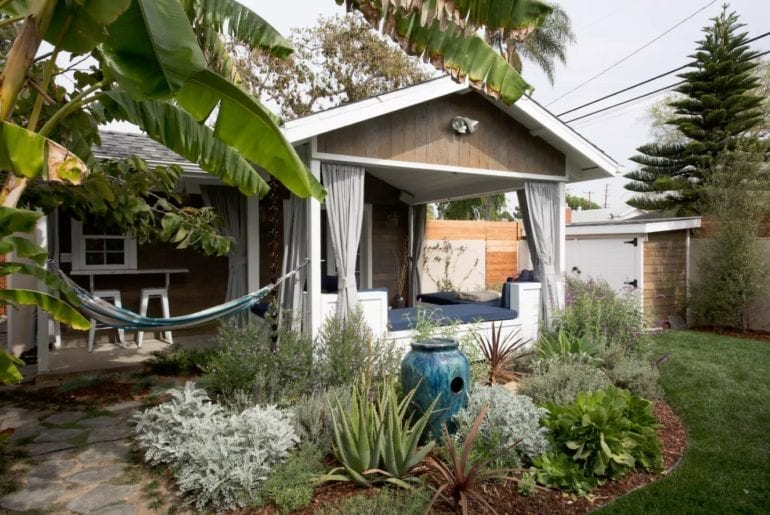 Where to stay in Los Angeles: Relax in privacy in this adorable home. There's an outdoor living room and hammock for your enjoyment.