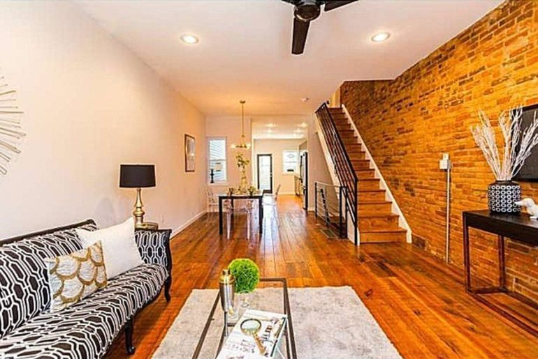 a philly bare brick home
