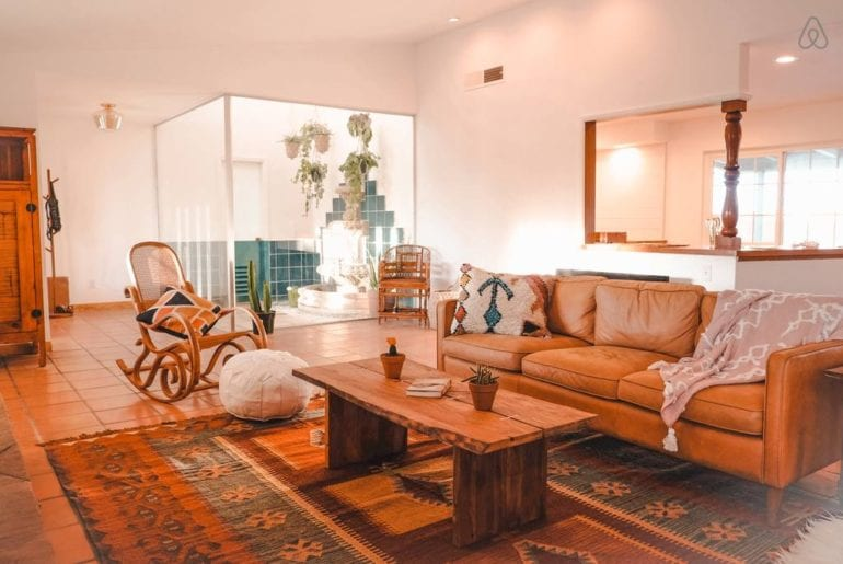joshua tree home with a pool airbnb