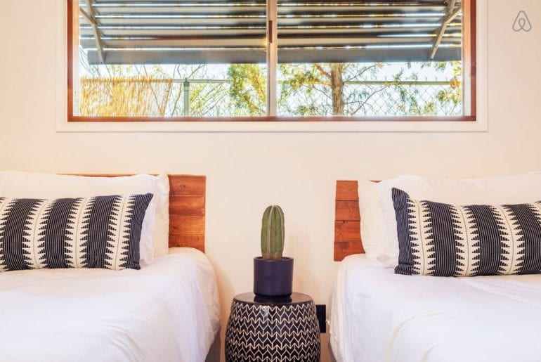 joshua tree airbnb home with inground pool