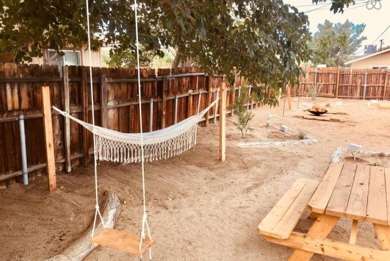boho bungalow in joshua tree with pool