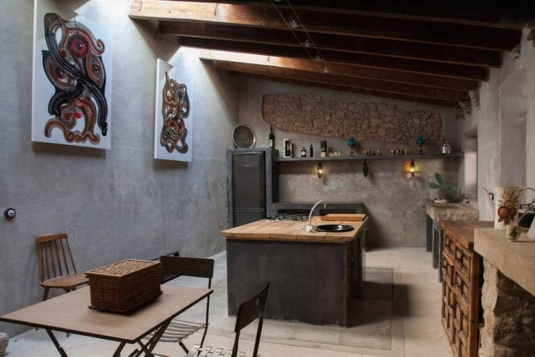rustic vineyard home airbnb barcelona