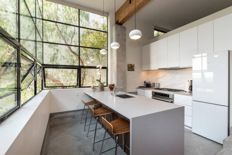 architectural guest house los angeles airbnb