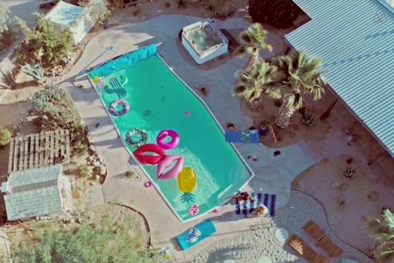 funky joshua tree home with pool airbnb