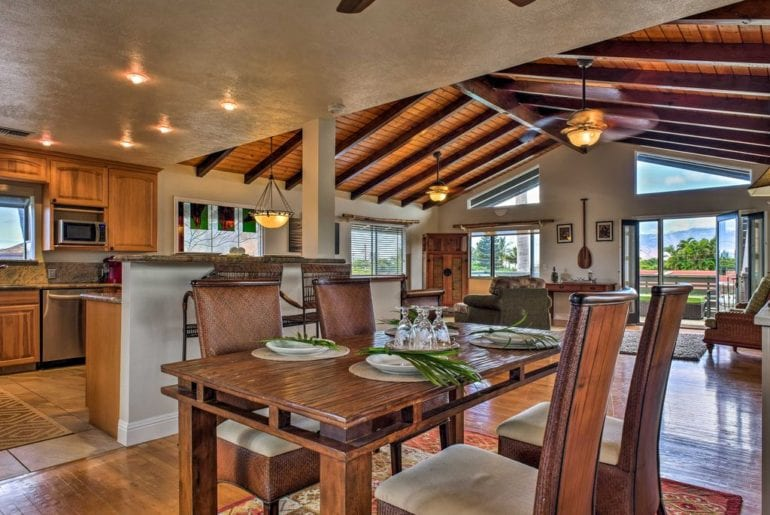 living space in Maui