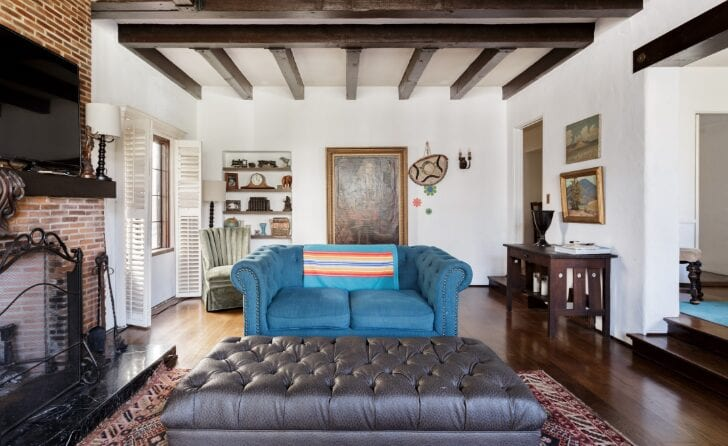 tudor style airbnb home in los angeles