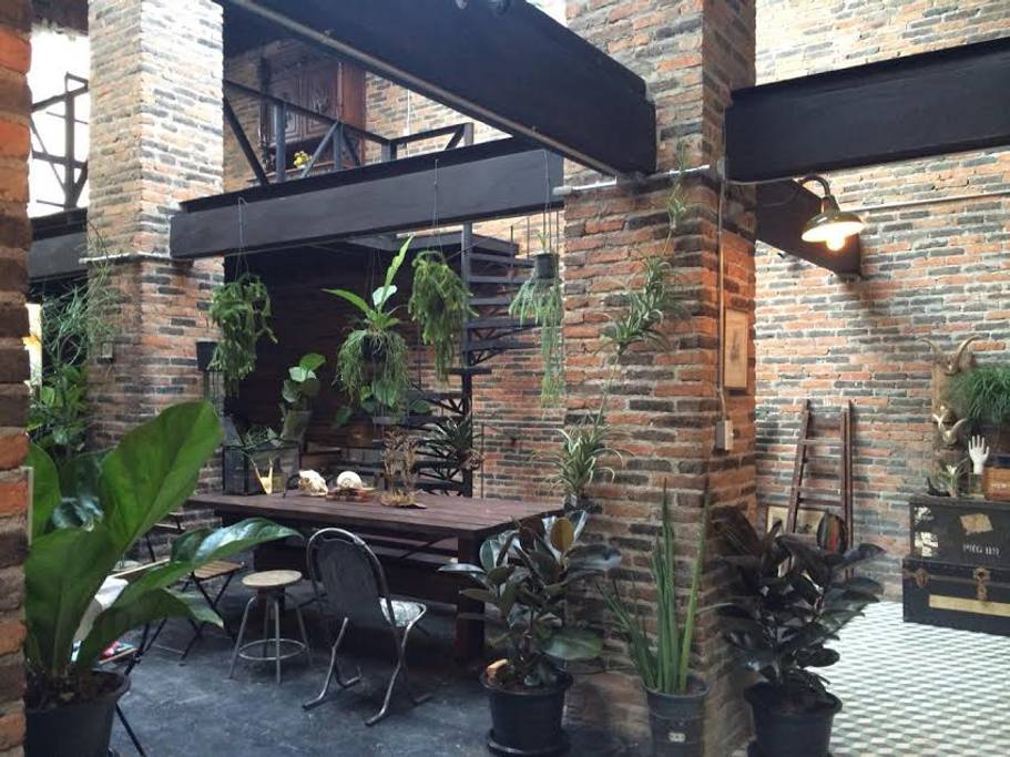 hip and industrial chic home close to grand palace bangkok