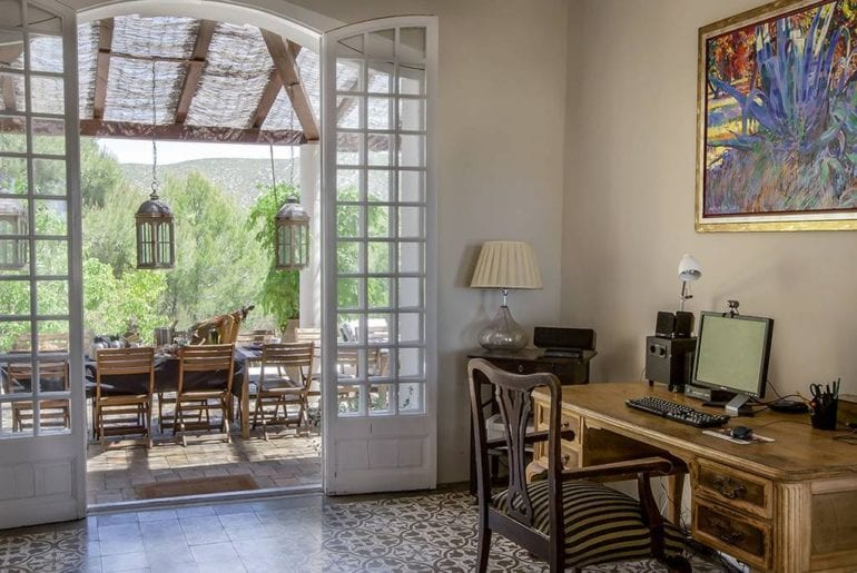 beautiful airbnb estate in sitges