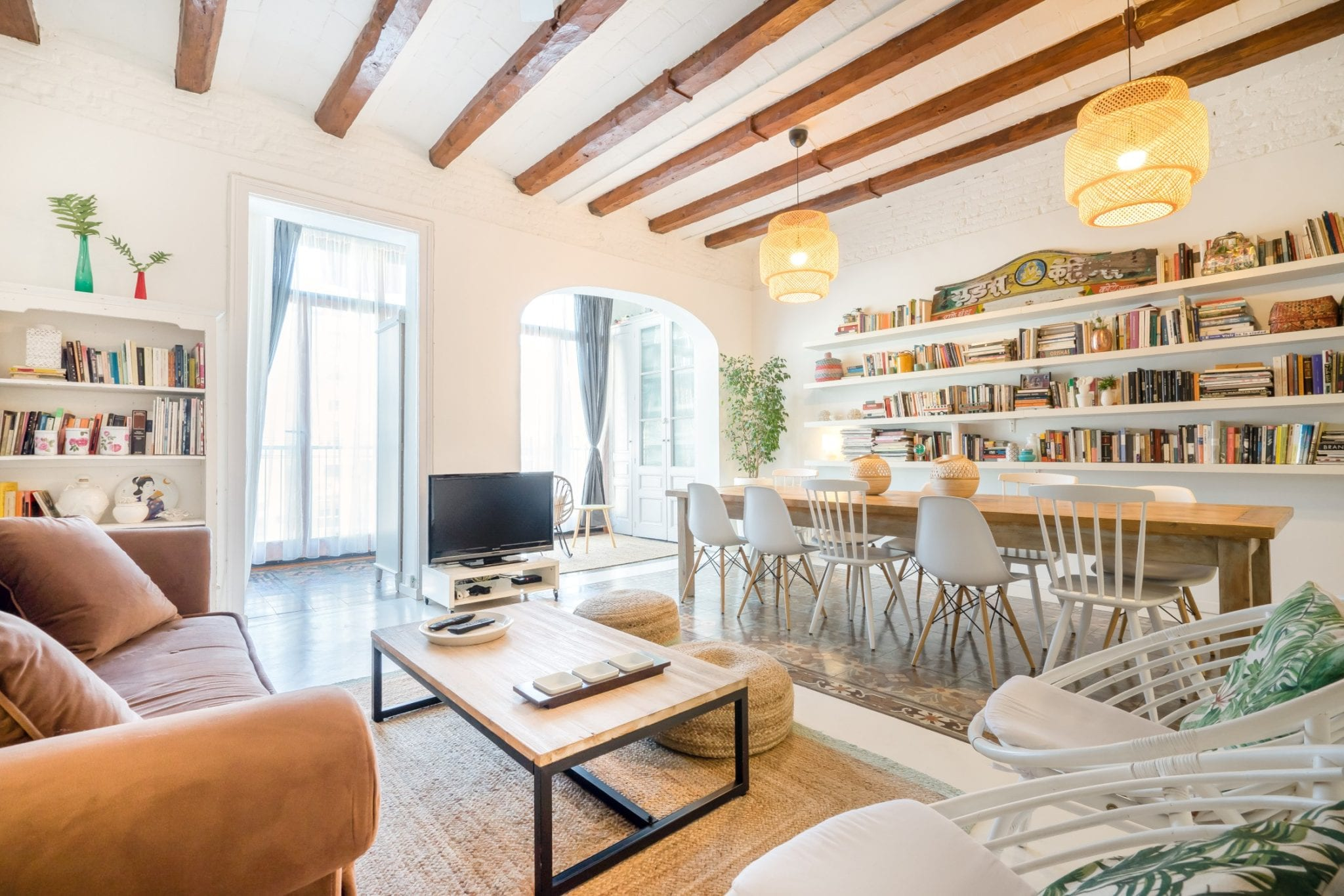 luxury barcelona rental home from airbnb