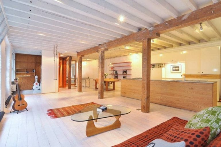 An Airbnb Shoreditch loft with loads of space for kids to run around
