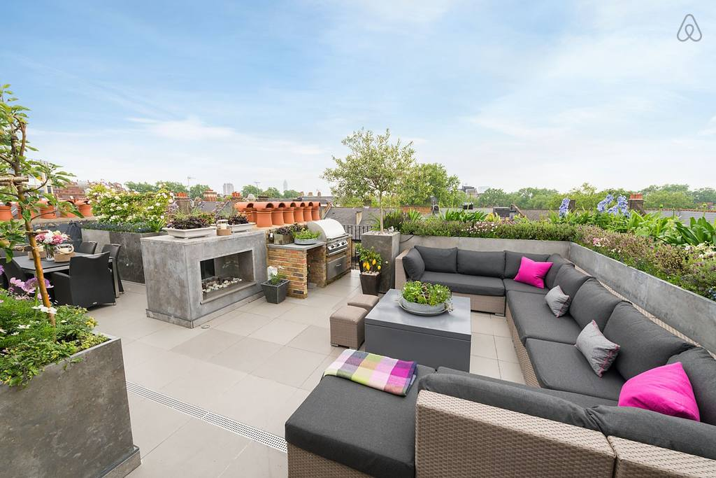 rooftop penthouse apartment near sloane square airbnb
