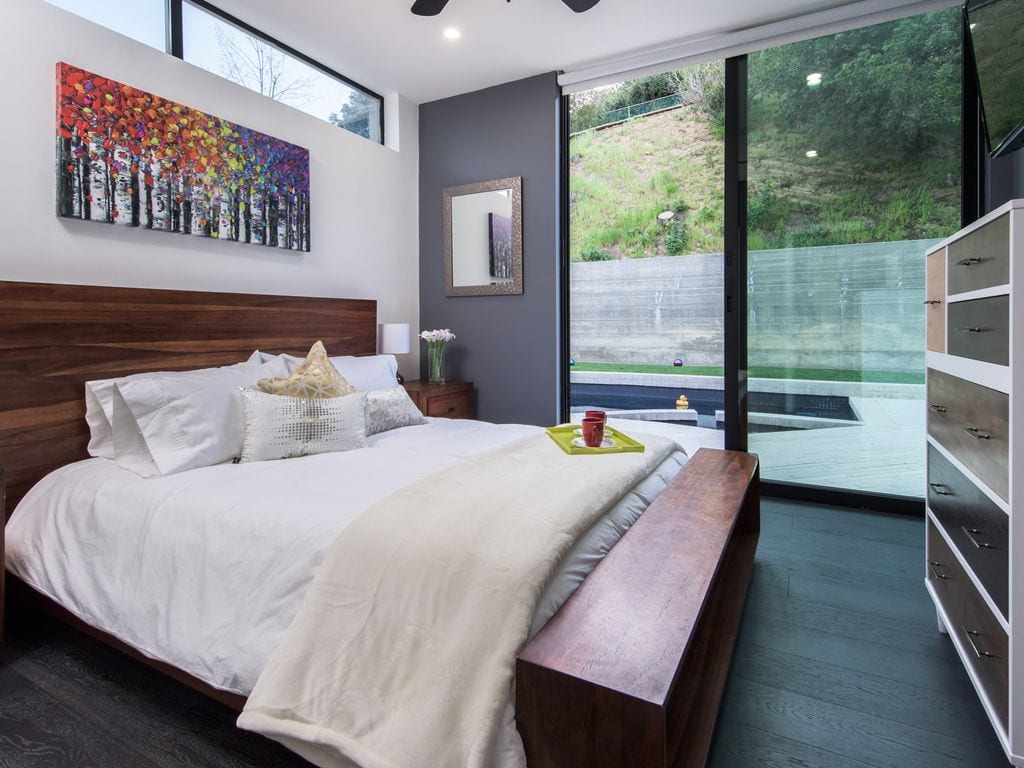 modern estate with pool vrbo hollywood hills